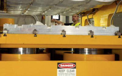 Innovative Gold Coast company invests in new armour press equipment