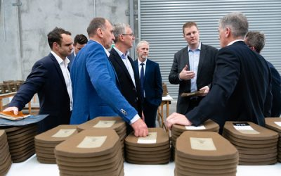 Chief of Army (Australia) visits the Craig International Ballistics manufacturing facility