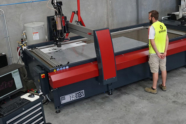 Craig International Ballistics invests in Ultra High Pressure Waterjet Cutter